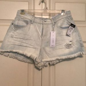Rue 21 High Rise Cut-off Shorts